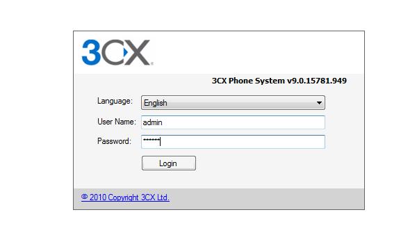 Ozeki C# SIP Stack - 3CX pbx setup