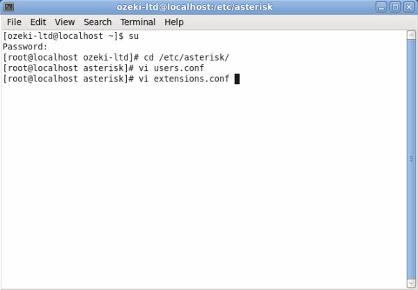 Ozeki C# SIP Stack - Asterisk pbx setup