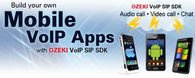 VoIP SIP software to create mobile VoIP apps (audio call, video call, chat)