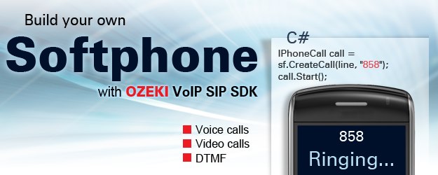 VoIP SIP software to build your own C# softphone